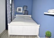 Gemütliches Schlafzimmer mit französichem Bett