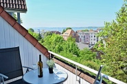 Großzügiger Balkon