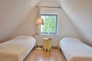 ... dem zweiten Schlafzimmer. Zwei Einzelbetten können zusammengestellt werden