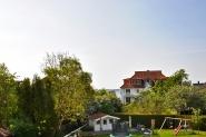 Balkonblick Richtung Förde