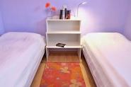 Das Schlafzimmer ...