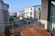 Nordische Terrasse mit Aussicht auf den Laboer Hafen!