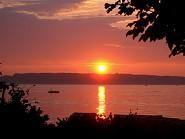 Traumhafte Sonnenuntergänge am Strand