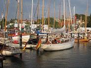 Der Hafen von Laboe