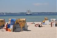 Genießen Sie den Strandtag in Ihrem reservierten Strandkorb!