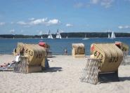 Genießen Sie Ihren Strandtag im für Sie reservierten Strandkorb!