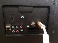 TV-Anschlussmöglichkeiten für Ihre eigenen elektronischen Geräte.