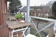 Ein süsser Balkon, ... genau richtig für den ersten Kaffee!