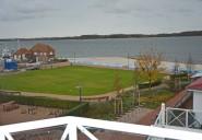 Blick vom Balkon (Meerseite)