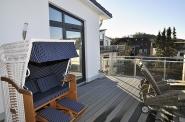 Strandkorb, ... auch auf der Dachterrasse!