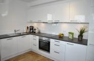 moderner Küchenbereich