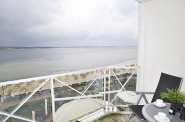 Spektakulär! Seesicht-Balkon mit uneingeschränktem Panoramablick ...