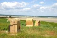 Strandkörbe - typisch für die Ostsee