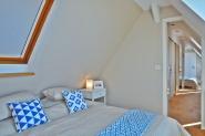 äußerstes Schlafzimmer mit direktem Treppenzugang