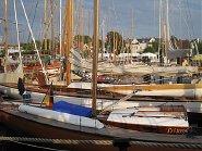 Hafen in Laboe an der Ostsee