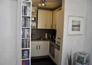 Gute ausgestattete Küche mit allem Komfort